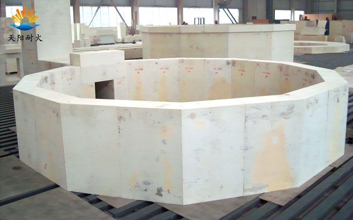 耐火材料电熔锆刚玉砖AZS