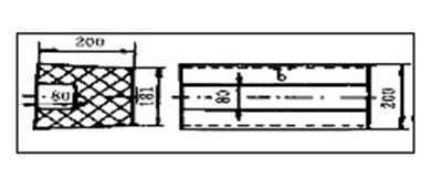 电熔锆刚玉砖的环型砌筑